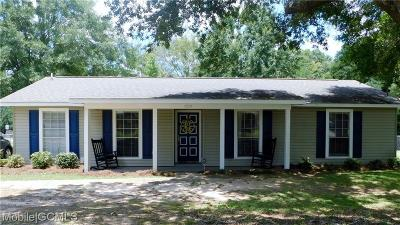 Semmes Single Family Home For Sale: 9214 Ponderosa Drive N