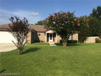 Mobile County Single Family Home For Sale: 7831 Heaton Drive