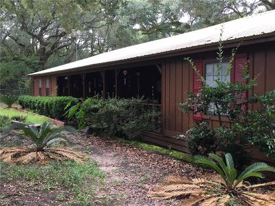Citronelle Single Family Home For Sale: 8513 Walter Stewart Road