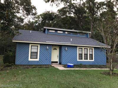 Mobile Single Family Home For Sale: 800 Laurie Court