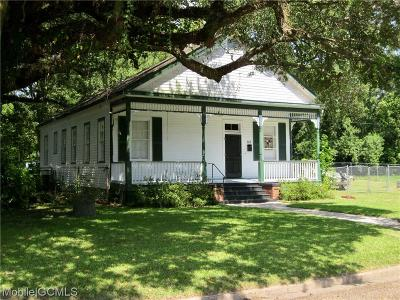 Mobile Single Family Home For Sale: 508 George Street