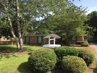 Semmes Single Family Home For Sale: 7930 Oak Hill Drive