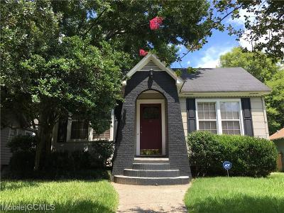 Mobile Single Family Home For Sale: 59 Fulton Street