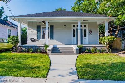 Mobile Single Family Home For Sale: 1415 Brown Street