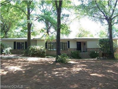 Mobile Single Family Home For Sale: 1300 Forest Dell Road