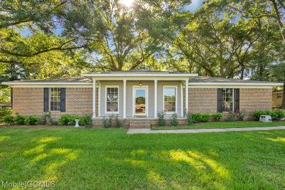 Mobile Single Family Home For Sale: 3260 Graham Road N