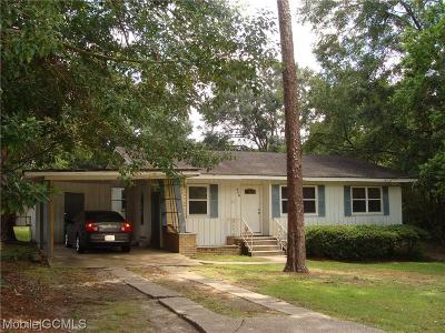 Chickasaw Single Family Home For Sale: 408 Sutherland Drive