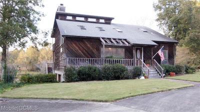 Mobile Single Family Home For Sale: 81 Eliza Jordan Road N