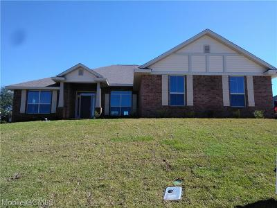 Semmes Single Family Home For Sale: 2268 Edison Drive