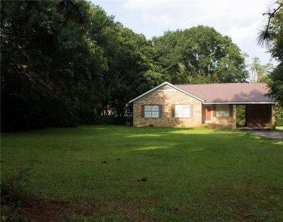 Irvington Single Family Home For Sale: 9721 Irvington-Bayou La Batre Highway