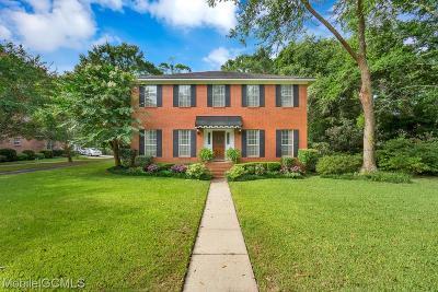 Mobile Single Family Home For Sale: 5721 Regency Court N
