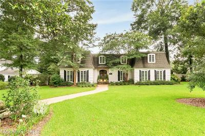 Mobile County Single Family Home For Sale: 3720 Calderwood Drive