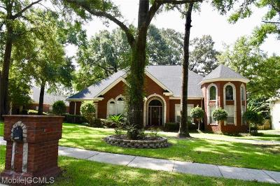 Single Family Home For Sale: 7681 Bedford Court