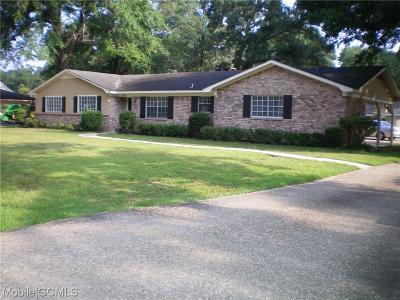 Satsuma Single Family Home For Sale: 559 Vaughan Drive S