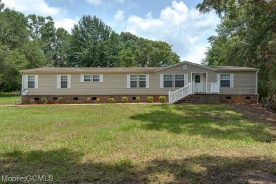 Semmes Single Family Home For Sale: 6350 Lott Road #3
