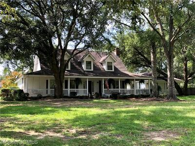 Semmes Single Family Home For Sale: 10280 Wulff Road S