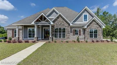 Saraland Single Family Home For Sale: 6797 T.m. Brett Boulevard