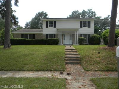 Mobile Single Family Home For Sale: 817 Challen Circle N
