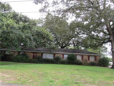 Mobile Single Family Home For Sale: 1608 Regency Drive