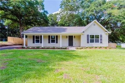 Mobile Single Family Home For Sale: 9570 Hamilton Creek Drive