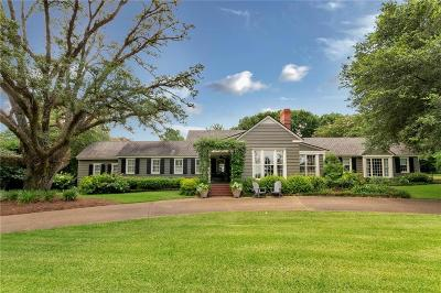 Mobile Single Family Home For Sale: 20 Country Club Road