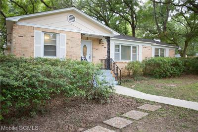 Mobile Single Family Home For Sale: 5401 Malcolm Drive