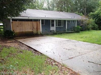 Mobile Single Family Home For Sale: 1355 Riviera Drive E