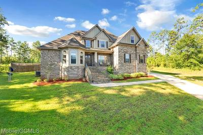 Mobile Single Family Home For Sale: 3947 Stone Mill Court
