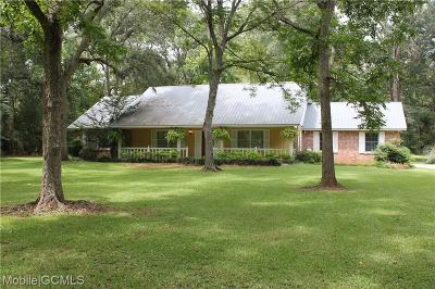 Baldwin County Single Family Home For Sale: 25299 Cooper Cemetery Road