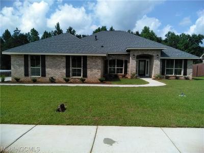 Semmes Single Family Home For Sale: 8592 Fernwood Loop N