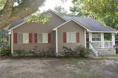 Chunchula Single Family Home For Sale: 12955 Maddox Road