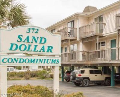 Baldwin County Condo/Townhouse For Sale: 372 Beach Boulevard E #11