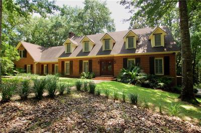 Baldwin County Single Family Home For Sale: 7180 Military Bridge Drive