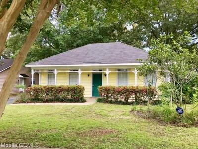 Mobile County Single Family Home For Sale: 6608 Autumn Ridge Drive