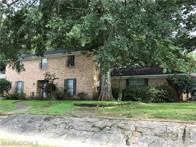 Mobile County Single Family Home For Sale: 4200 Maplewood Court