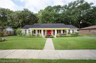 Mobile County Single Family Home For Sale: 5363 Timberline Ridge