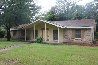 Mobile AL Single Family Home For Sale: $122,500
