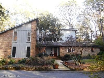 Mobile Single Family Home For Sale: 10740 Elnina Drive