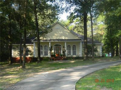 Saraland Single Family Home For Sale: 6311 Celeste Road