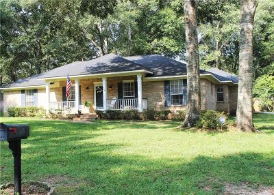 Mobile Single Family Home For Sale: 420 Breckenridge Drive E
