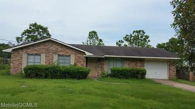 Grand Bay Single Family Home For Sale: 10681 Potter Tract Road