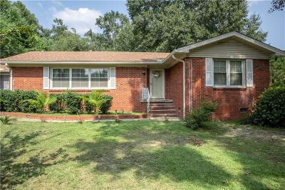 Chickasaw Single Family Home For Sale: 428 Myrtlewood Avenue