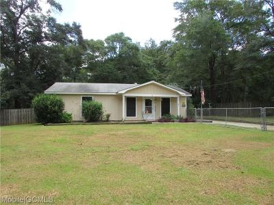 Semmes Single Family Home For Sale: 1160 Snow Road N