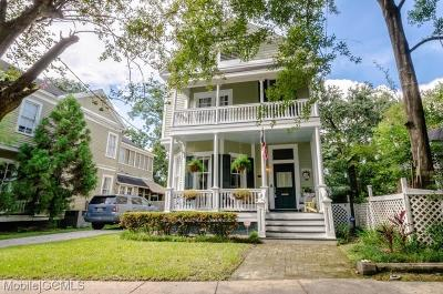 Mobile Single Family Home For Sale: 1154 Palmetto Street