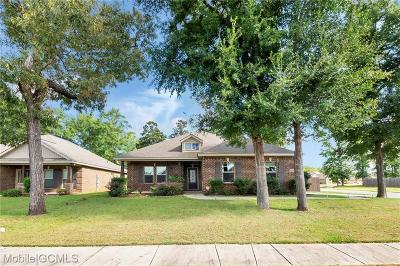 Semmes Single Family Home For Sale: 8362 Clairmont Drive S