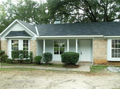 Mobile Single Family Home For Sale: 1849 Summer Place Drive E