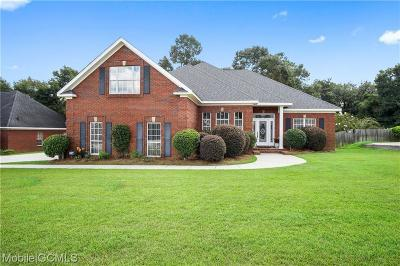 Saraland Single Family Home For Sale: 3401 Twin Lakes Court