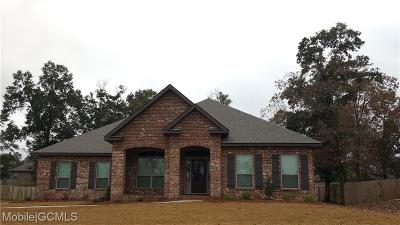 Saraland Single Family Home For Sale: 3295 Abbey Drive