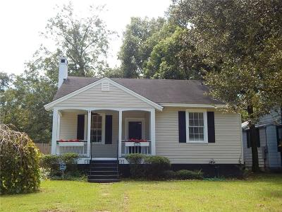 Mobile AL Single Family Home For Sale: $159,900