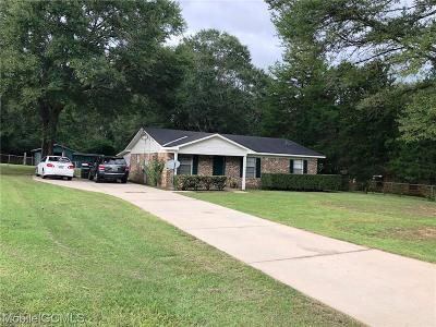 Semmes Single Family Home For Sale: 9750 Coleman Dairy Road